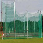 CAGE DE LANCER DISQUE ALUMINIUM POLANIK IAAF 5/7m