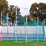 CAGE DE LANCER DISQUE-MARTEAU ALUMINIUM POLANIK 5/7m