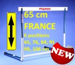 HAIE COMPETITION IAAF 6 POSITIONS Ht 65cm FRANCE