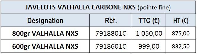 Valhalla Carbonne Pointe Fine NXS