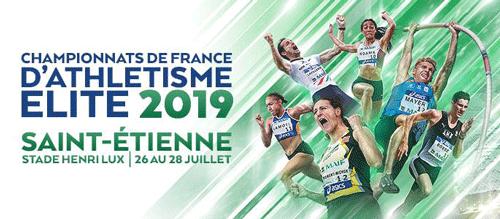 Championnats de France d'Athlétisme Sainte-Étienne 2019