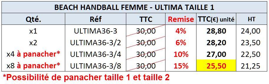 Beach Handball Ultima 36-3